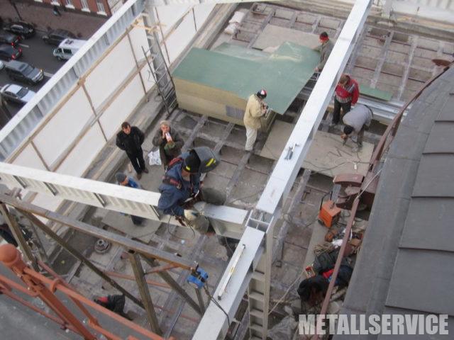 Реконструкция зданий из металла в Киеве
