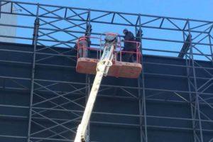 монтаж и демонтаж конструкций на высоте