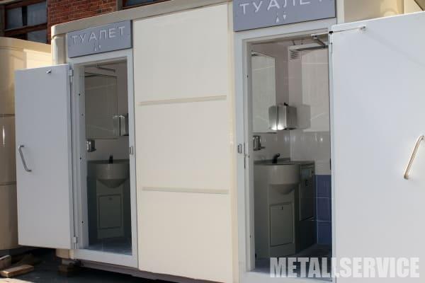 Модульные туалеты
