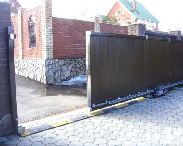 Картинки по запросу откатные ворота