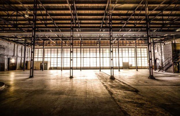 Усиление металлических конструкций складов и ангаров