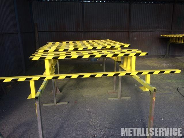 Защитное ограждение из металла на заказ