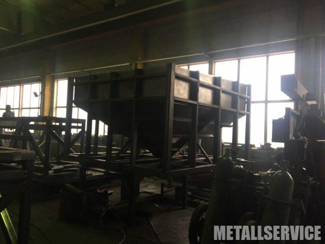 Металлические бункеры на заказ в Киеве