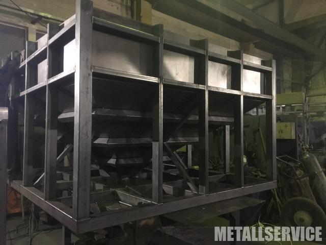 Изготовление бункера из металла - процесс производства