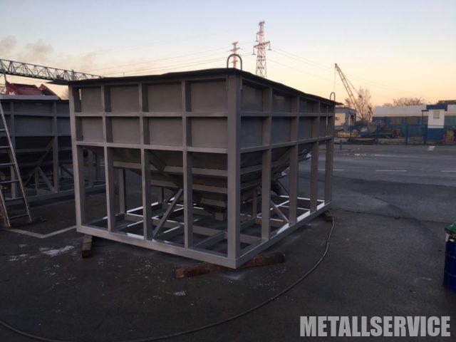 Изготовление металлических бункеров