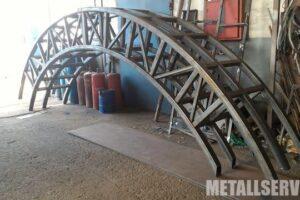 изготовление ферм из металла