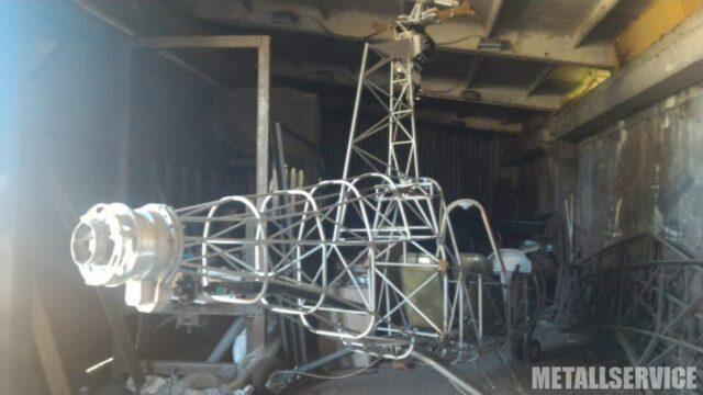 Каркас корпуса вертолета из металла на заказ