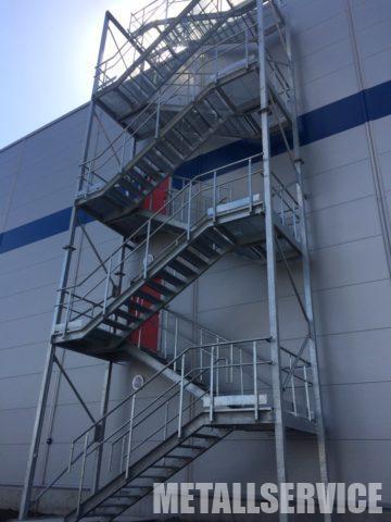 Металлическая лестница для склада, Киевская область