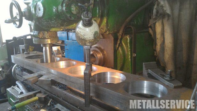 Фрезерные работы по металлу, Киев