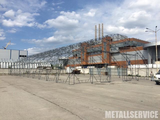 Тент павільйон з металу на замовлення в Києві