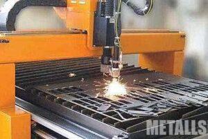 Плазменная резка металла на станке