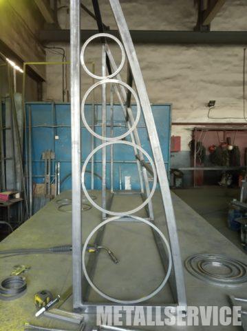 Навесы из металла изготовление Киев