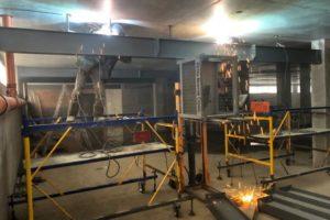 Перекрытие усиление - усиление перекрытия металлоконструкциями