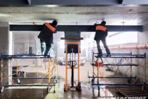 Посилення перекриття металоконструкціями