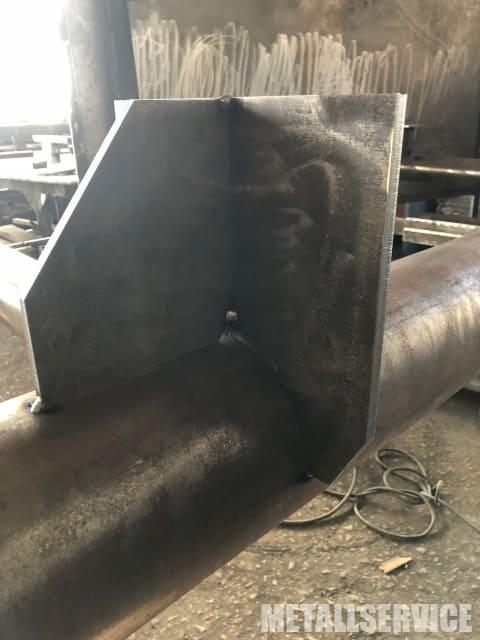 узел металлоконструкций