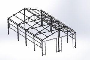 Металлокаркасы, изготовление и монтаж металлических каркасов