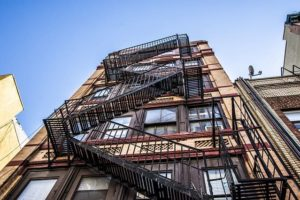Наружные пожарные лестницы