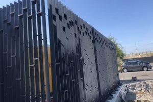 забор для спортивной площадки