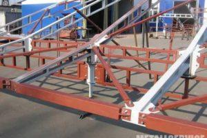 Этапы монтажа металлоконструкций